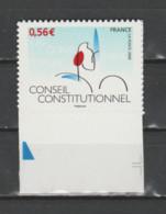 FRANCE / 2009 / Y&T N° AA 337 ** : Conseil Constitutionnel (adhésif) Du 2ème Tirage X 1 BdF Bas - Luchtpost