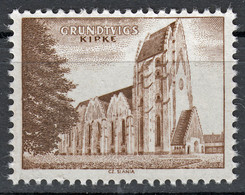 Probedruck, Test Stamp, Specimen, Prove, Grundtvig Kirke, Slania 1968 - Prove E Ristampe