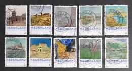 Nederland/Netherlands - Serie 3012-F1 Vincent Van Gogh - Stad En Dorp 2015 - Usados