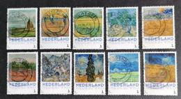 Nederland/Netherlands - Serie 3012-F3 Vincent Van Gogh - Landschappen 2015 - Usados