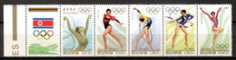 Korea North 1994 Corea / Callisthenics Olympics Rhythmic Gymnastics MNH Gimnasia Rítmica Olimpiadas / Ht42  23-16 - Gymnastics