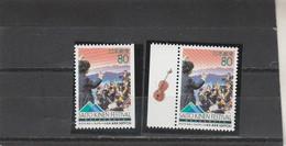 Japon 1996 Yvert  2285 Et 2285a  ** Neufs Sans Charnière - Festival De Musique Saito Kinen - Ungebraucht