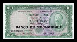 Mozambique 100 Escudos 1961 (1976) Pick 117 SC UNC - Mozambique