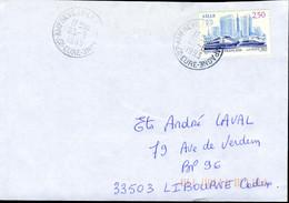 N°YT 2811 (1993) - Obl. Cachet Manuel D'Amfreville La Campagne (27) - 1961-....
