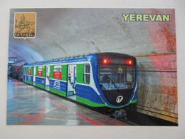 Armenia Yerevan Yerevan Metro With Tram Modern PC - Subway