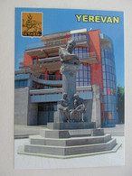 Armenia Yerevan Monument To Tigran Petrosian World Chess Champion Modern PC - Chess