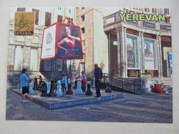 Armenia Yerevan Street Chess Near Moscow Cinema Modern PC - Chess