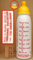 Armagnac DUCASTAING à Condom - Ancienne Bouteille Vide Humoristique En Forme De BIBERON - Spirits