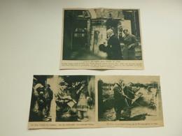 """Origineel Knipsel ( C 805 ) Uit Tijdschrift  """" Ons Land """"  1923 :  Prins Van Wales Te Ieper   Yper - Zonder Classificatie"""