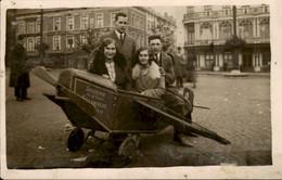 België - Onbekend - Fotokaart -  Souvenir De La Place Si Lambert - Vlieg Machiene - 1931 - Unclassified