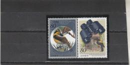 Japon 1996 Yvert  2259 Et 2260  ** Neufs Sans Charnière - Semaine De L' Oiseau - Ungebraucht