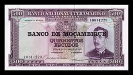 Mozambique 500 Escudos 1967 (1976) Pick 118 SC UNC - Mozambique