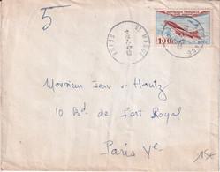 1957 - POSTE AERIENNE SEUL Sur ENVELOPPE PNEUMATIQUE De ST MANDE => PARIS - 1927-1959 Brieven & Documenten