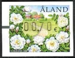 Aland 2008 Automaticos ATMS 17 ** Flores. Rosa Campesina - Aland