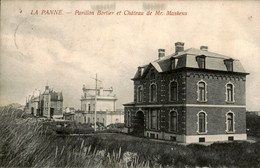 België - La Panne - Pavillon Bortier Et Chateau De Mr Maskens - 1907 - Non Classés