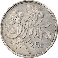 Monnaie, Malte, 25 Cents, 1995, Franklin Mint, TTB, Copper-nickel, KM:97 - Malta