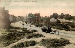 België - La Panne - Avenue De La Mer - Amer Cusenier - Tram - 1911 - Non Classés