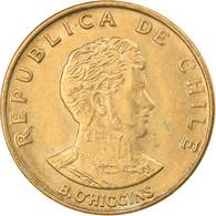 Monnaie, Chile, 10 Centesimos, 1971, Santiago, TTB, Aluminum-Bronze, KM:194 - Chile