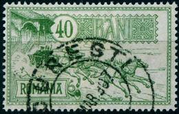 "Rumänien Romania 1903 Michel-# 152 "" 20-bani Aus Satz Postgebäude Bukarest "" Michel ~12 € - Used Stamps"