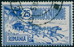 "Rumänien Romania 1903 Michel-# 151 "" 25-bani Aus Satz Postgebäude Bukarest "" Michel ~11 € - Used Stamps"