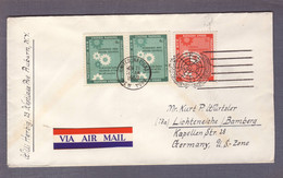 """Lettre """"Conseil économique Et Social"""" ʘ United Nations New York 21.11.1968> Lichteneiche - Storia Postale"""