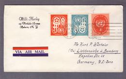"""Lettre """"Commission économique Pour L'Europe"""" ʘ United Nations New York 16.06.1959 > Lichteneiche - Storia Postale"""