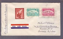 """Lettre """" Assemblée Générale 1946-50 """" ʘ United Nations New York 20.07.1959 > Lichteneiche - Storia Postale"""