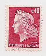 LOT DE 1000 TIMBRES (1000) Du 40 C. ROUGE CARMINE  N° 1536B *  MARIANNE DE CHEFFER  * GRAVE  * POUR ETUDES/VARIETES * - Lots & Kiloware (mixtures) - Min. 1000 Stamps