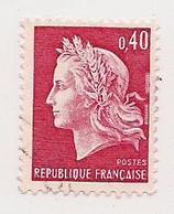 LOT DE 1000 TIMBRES (1000) Du 40 C. ROUGE CARMINE  N° 1536B *  MARIANNE DE CHEFFER  * GRAVE  *pour ETUDES/VARIETES */OBL - Lots & Kiloware (mixtures) - Min. 1000 Stamps