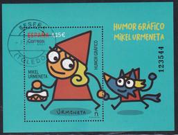 2021-ED. 5475 H.B. Humor Gráfico. Mikel Urmeneta  - USADO - 2011-... Used