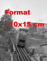 Reproduction D'une Photographie Ancienne Du Funiculaire De Marzilibahn à Berne En Suisse En 1959 - Reproductions