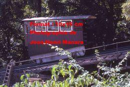 Reproduction D'une Photographie Du Funiculaire De Marzilibahn à Berne En Suisse En 1971 - Reproductions