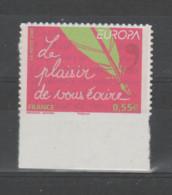 """FRANCE / 2008 / Y&T N° AA 207 ** : """"Europa"""" (Le Plaisir De Vous écrire) Adhésif X 1 BdF Bas - Luchtpost"""