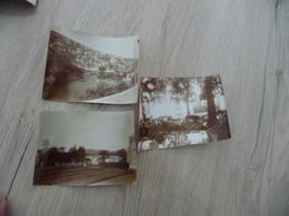 X3 Photo Originale Ganges Hérault Vers 1930 Dont Repos Des Moutons  11 X 8 - Lugares