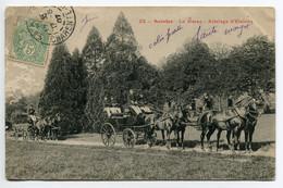 17 SAINTES 23 - Le Harras Attelage D'Etalons Chevaux 1907 Timbrée      /D21-2018 - Saintes