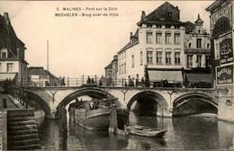 België - Malines Mechelen - Brug Over De Bijle - Chicoree - 1915 - Unclassified