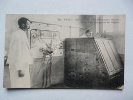 CPA 03 ALLIER - VICHY : Intérieur De L'Etablissement Thermal - Bain D'air Chaud Ou De Vapeur - Vichy