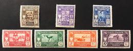 1930 Colonie Italiane Libia IVà Prima Fiera Di Tripoli MH* S. 18 Linguellata Completa Fra.1769 - Libya