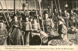 België - Herstal Lez Liege Luik - Atelier De Brunissage - Fabrique Nationale D Armes De Guerre - 1900 - Unclassified