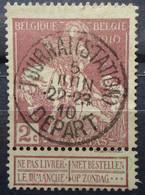 N°89 V1 M Brisé Dans Dimanche - Abarten (Katalog Luppi)