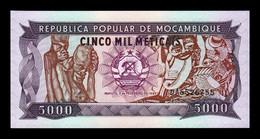 Mozambique 5000 Meticais 1989 Pick 133b Serie DA SC UNC - Mozambique