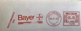 Health, Pharmacy,  Medicine Italia 2005, Brembate  Special Postmark Bayer , Raccomandata - Apotheek