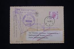 BELGIQUE - Carte 1er Vol Sabena Liège / Londres En 1976 Et Retour - L 94387 - Brieven En Documenten