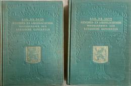 Geschied- En Aardrijkskundig Woordenboek Der Belgische Gemeenten - 2 Delen - De Seyn - Illustraties - Kaarten - 1583 Pag - Geschichte