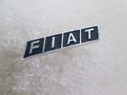 PIN'S    LOGO   FIAT   Aluminium - Fiat