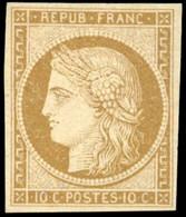 * 10c. Bistre-jaune. TB. - 1849-1850 Ceres