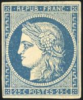* 25c. Bleu. TB. - 1849-1850 Ceres