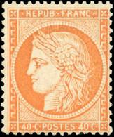 ** 40c. Orange. TB. - 1870 Besetzung Von Paris