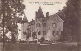 72 - Saint-Mars-la-Brière  (Sarthe) - Le Château Et Les Tourelles - Other Municipalities
