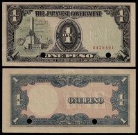 PHILIPPINES - WWII JAPANESE GOVERNMENT BANKNOTE - 1 PESO (1943) P#109a XF (NT#05) - Other